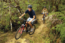 Mountain bike, Isole Galapagos